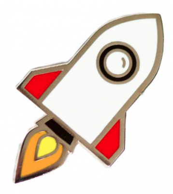 Rockship Pin - These Are Things