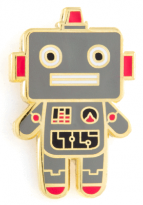 Robot Baby Pin - These Are Things