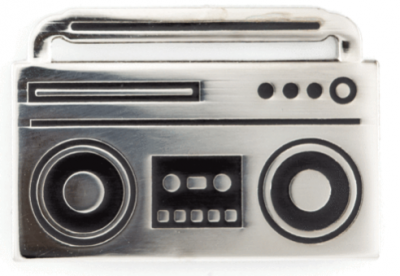 Boom Box Pin These Are Things