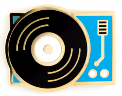Record Player Pin - These Are Things