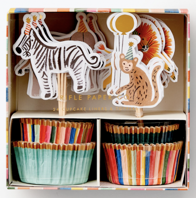 Party Animals Cupcake Kit Rifle Paper