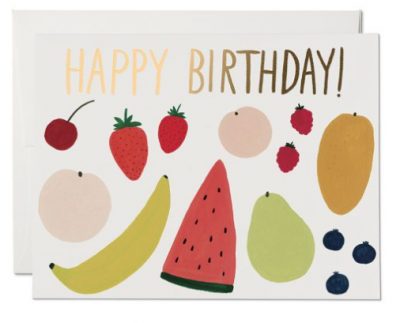 Fruits - Red Cap Cards