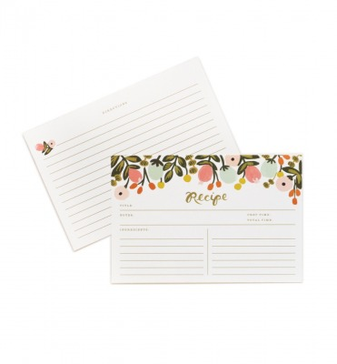 Hanging Garden Recipe Cards - Rezeptkarten
