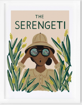 Serengeti Art Print Rifle Paper Co