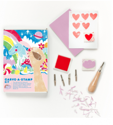 Carve -A- Stamp Kit Yellow Owl