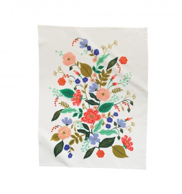 Floral Vines Tea Towel - Geschirrtuch