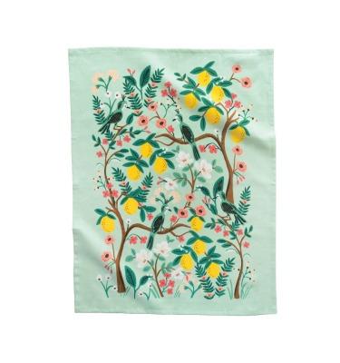 Shanghai Garden Tea Towel - Geschirrtuch