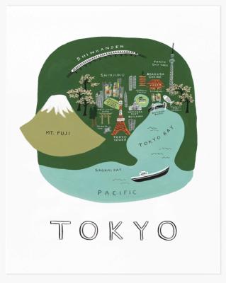 Tokyo Art Print - Art Print