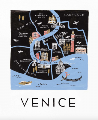 Venice Art Print Rifle Paper Co