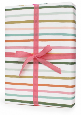 Happy Stripe Gift Wrap Rifle Paper