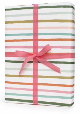 Happy Stripe Gift Wrap - Rifle Paper Co.