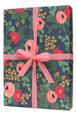 Rosa Wrapping Paper Rifle Paper Co