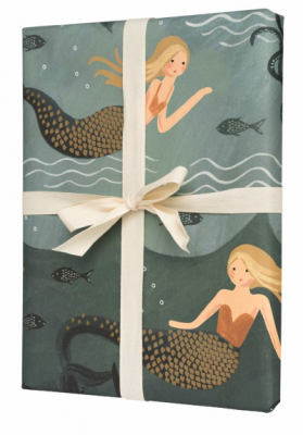 Mermaid Geschenkpapier - Rifle Paper Co