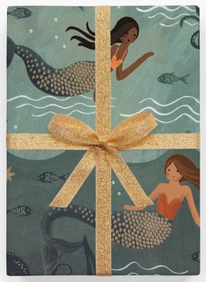Mermaid Gift Wrap Geschenkpapier Rifle Paper