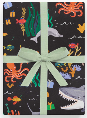Under The Sea Gift Wrap Geschenkpapier