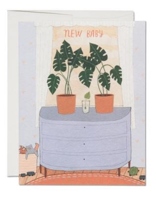 Nursery Plants - Red Cap Cards