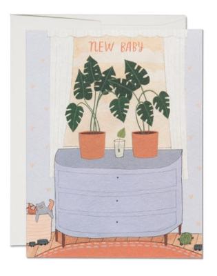 Nursery Plants - Red Cap Cards