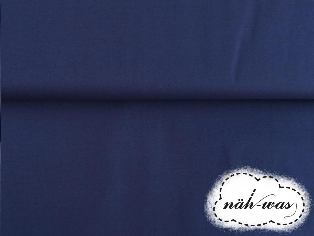 Uni Baumwollstoff dunkelblau 004 2