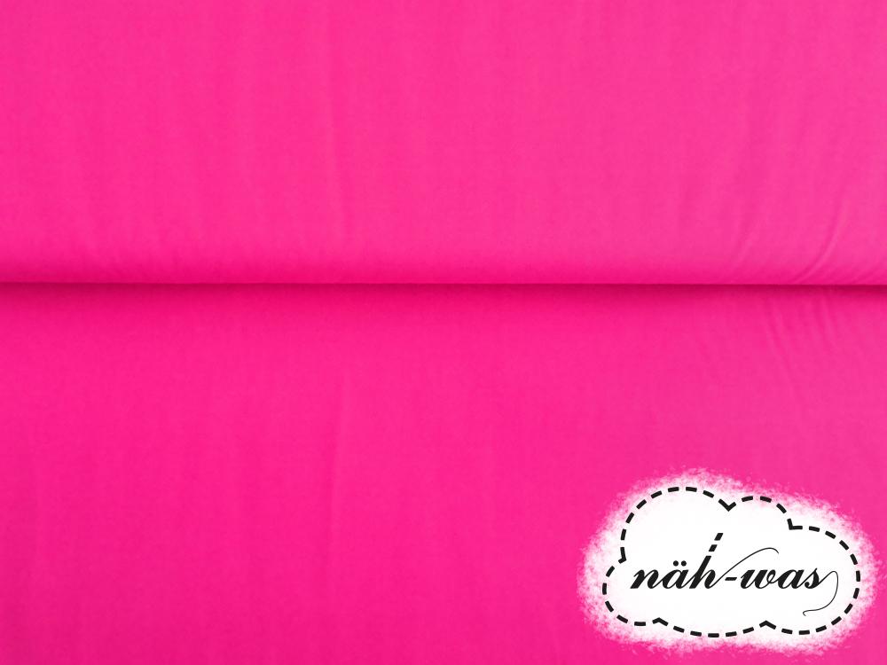 Uni Baumwollstoff pink 036 2