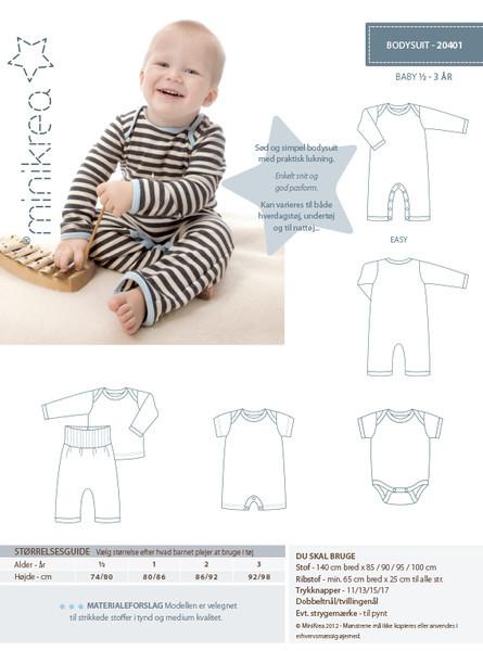 Schnittmuster ❤ Baby Strampler Minikrea Anleitung | näh-was