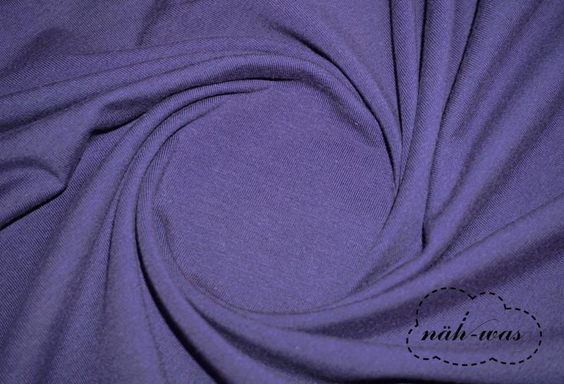 Jersey Stoff dunkelblau Baumwolljersey