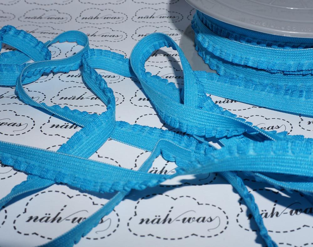 3m Rüschenband elastisch Gummi