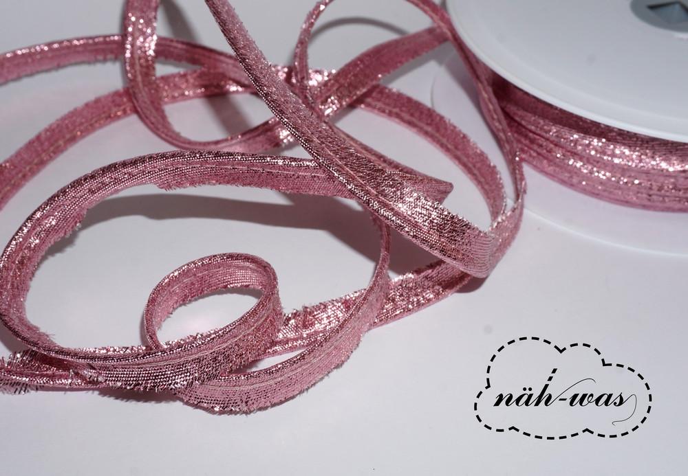 3m Paspel glitzer rosa