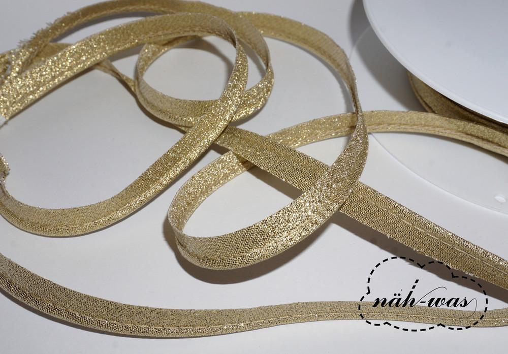 3m Paspel glitzer gold