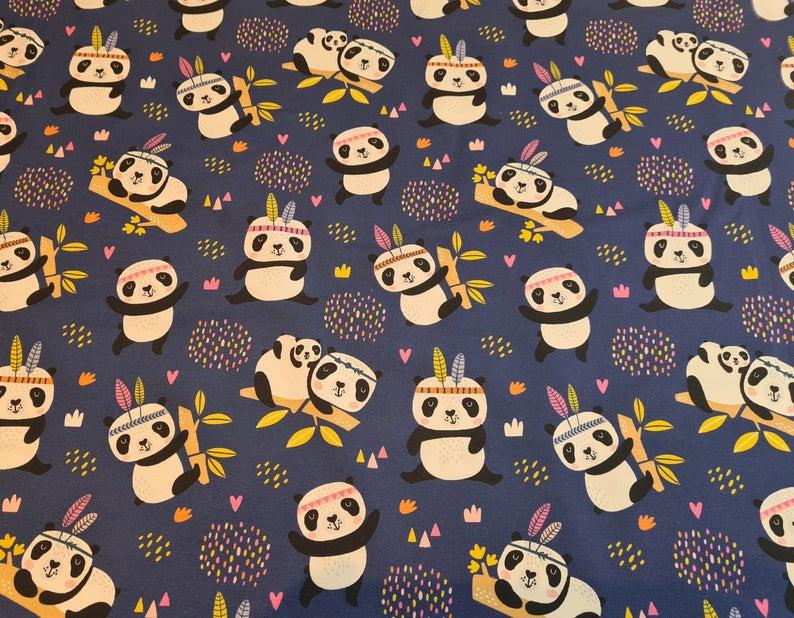 Panda Jersey sweet Pandas Fräulein Julie