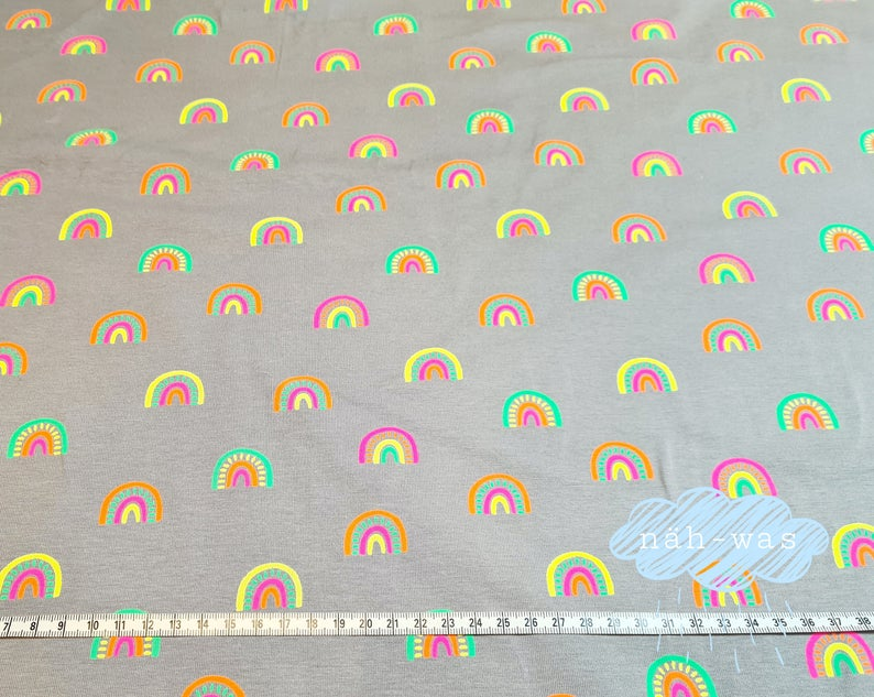 Neon Jersey Regenbögen Rainbow Jersey Regenbogen
