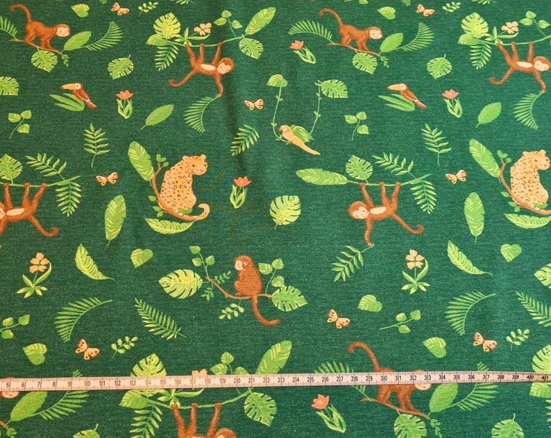 Dschungel Jersey Dschungeltiere Poppy Leo Leopard