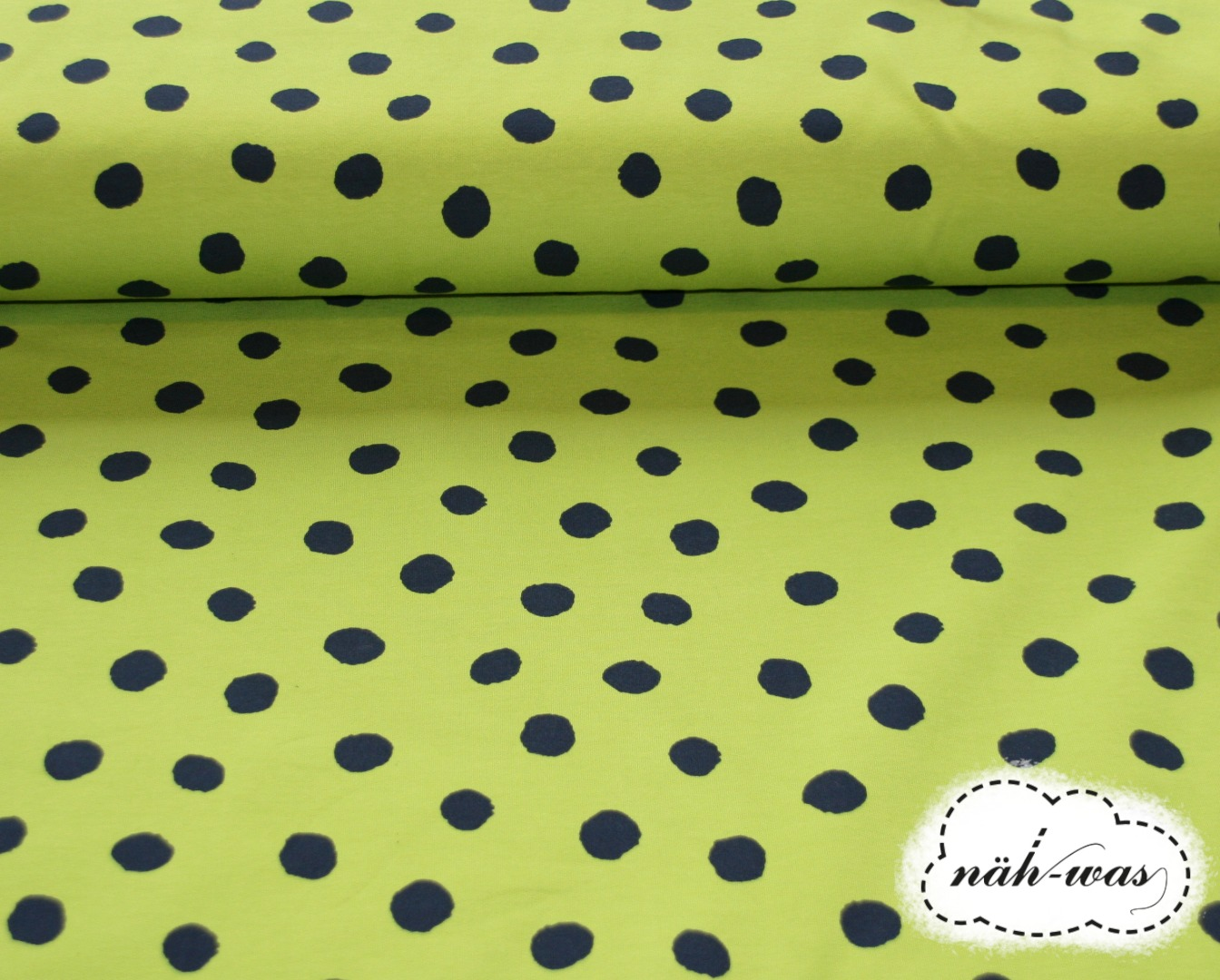 Dots French Terry Punkte