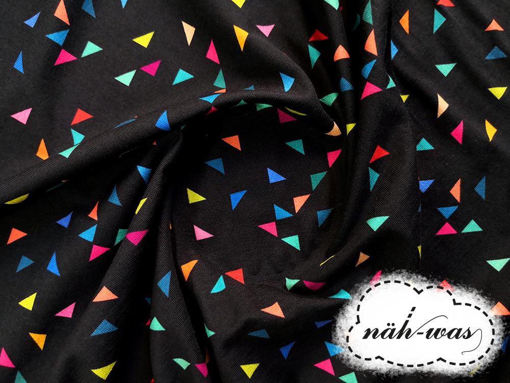 grafic Jersey Dreiecke Fräulein