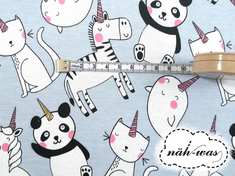 Panda Jersey Einhorn Unicorn