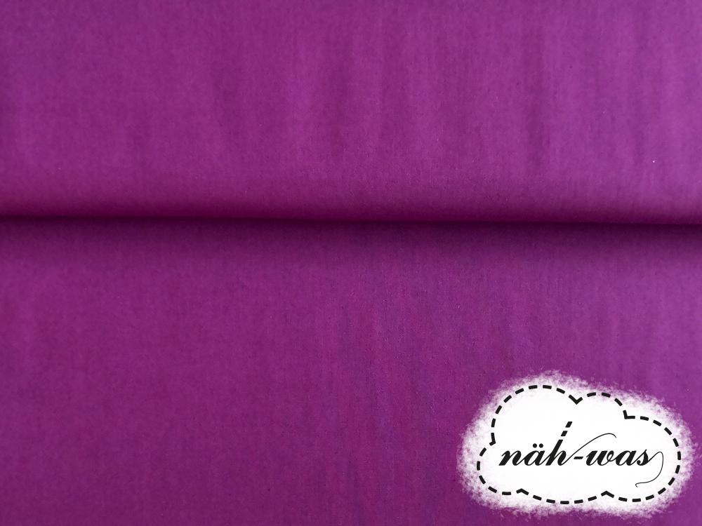 Uni Baumwollstoff lila 052 2