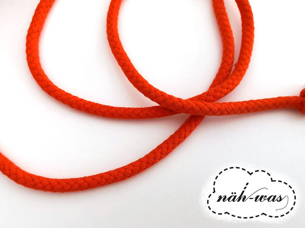 3m Kordel orange 8mm