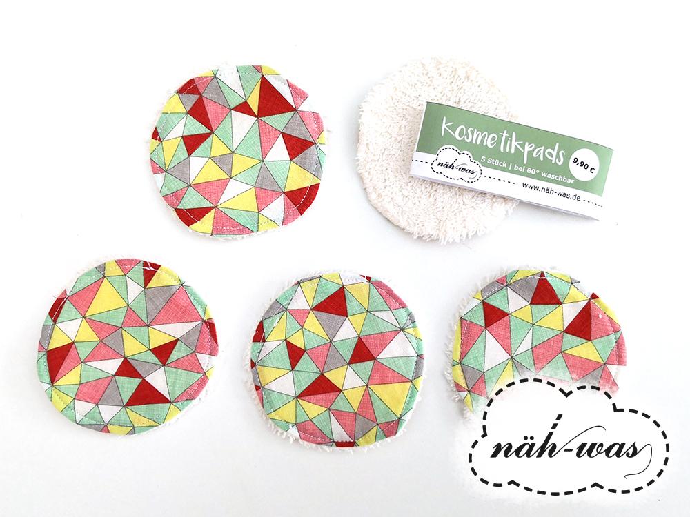 Wunschstoff Kosmetikpad Set Abschmink-Pads Wattepads aus