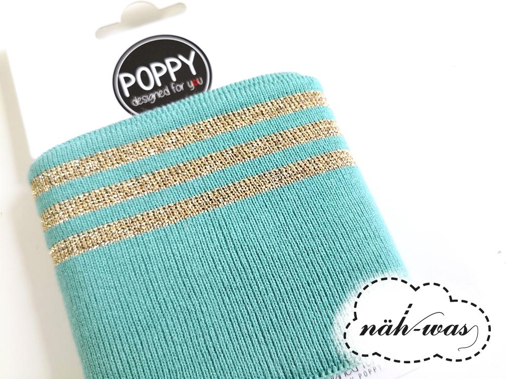 Poppy Cuff Streifen glitzer