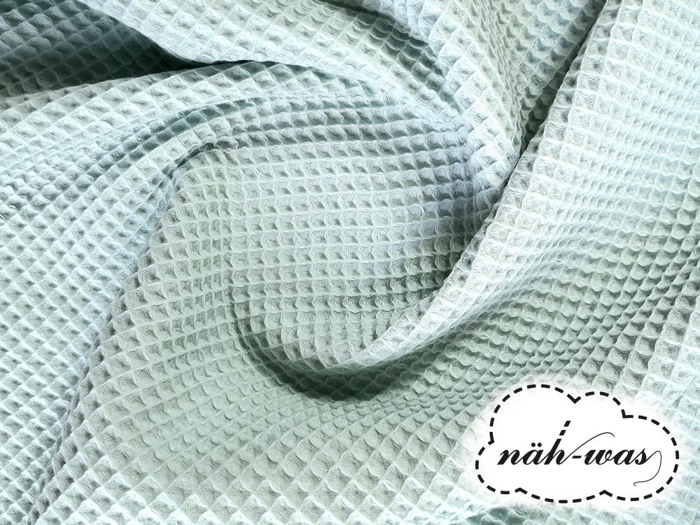 Waffelpique mint