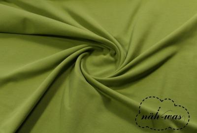 Sweat grün kiwi kuschelweich angeraut Softsweat