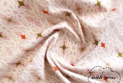 Cotton Steel senf rosa Baumwollstoff