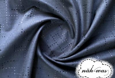 Cotton Steel Dots Baumwollstoff