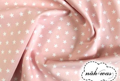 Sterne Baumwollstoff Sternchen rosa