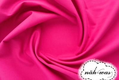Uni Baumwollstoff pink 036
