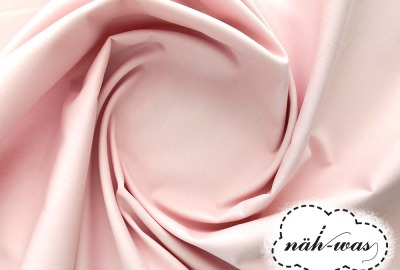 Uni Baumwollstoff rosa 014