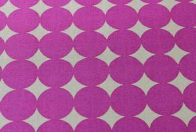 big MAXI DOTS Stoff pink grau