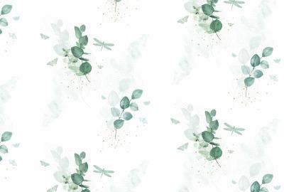 Eukalyptus Baumwollstoff Tante Ema