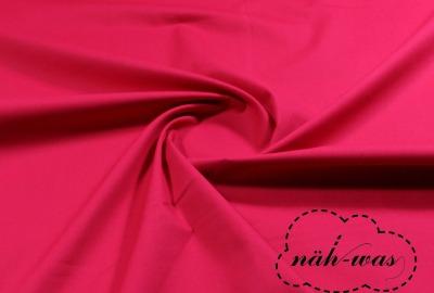 Uni Baumwollstoff dunkles pink 042