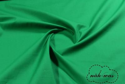 Uni Baumwollstoff smaragdgrün 069