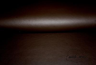 Kunstleder dunkelbraun Lederimitat